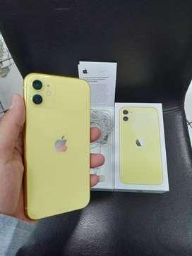 Iphone 11 64Gb Yellow ibox garansi panjang