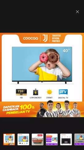 COOCAA 40D5T TV LED COOCAA 40 INCH-DIGITAL TV-HDMI/USB-GARANSI RESMI