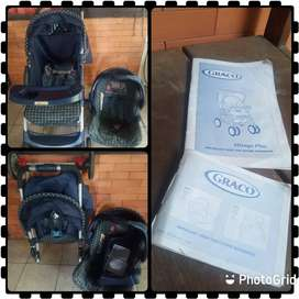 Stroller GRACO + Baby Car Seat Murah