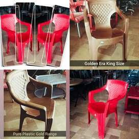 Pure Plastic King Chair