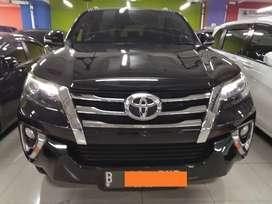 Toyota Fortuner 2.7 SRZ AT bensin 2017
