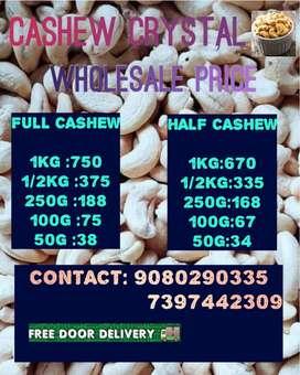 Sales cashew