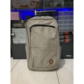 [BS] Tas Ransel Airwalk Unisex Santiago Backpack Warna Cream SaleMurah