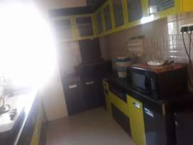 2bhk semi furnished flat available in near dmart