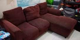 Sofa L Kondisi Bekas Layak Pakai