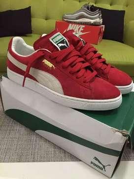 Jual Sepatu Puma Suede Classic+ ( no nike / adidas)