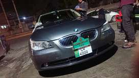 Bmw 5 series brand new scratchless 2006 import lahore number