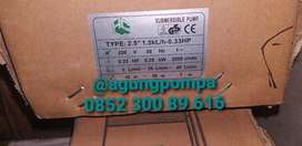 Pompa air tanam submeraible HCL sumur 2,5 dim 0,33 hp kabel