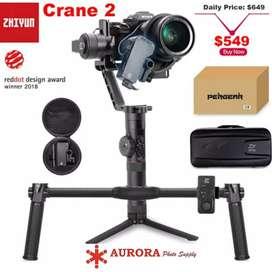 Zhiyun crane 2 stabilizer camera