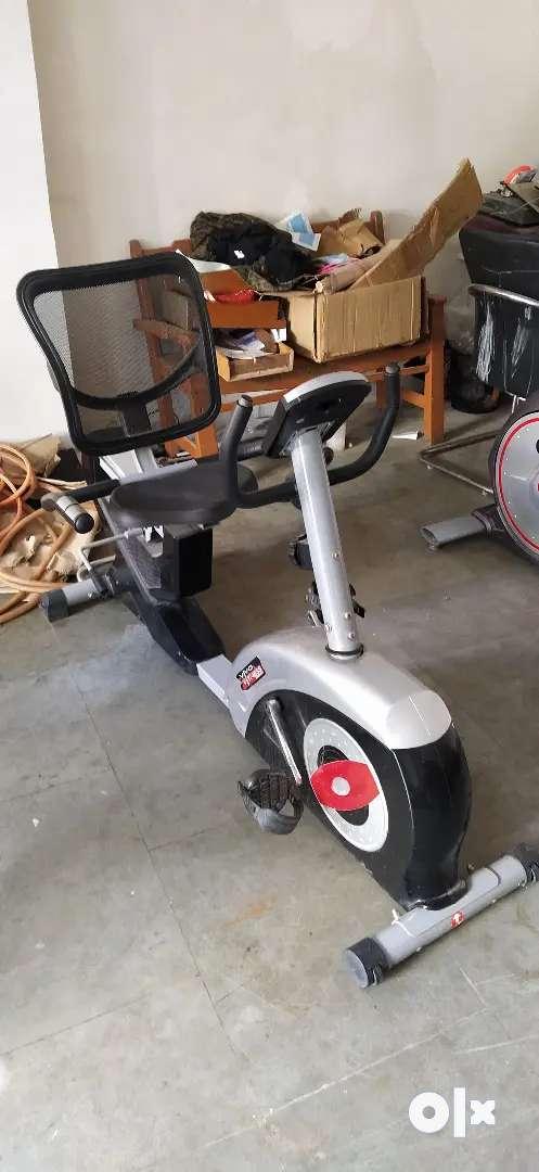 Viva fitness  KH-724 magnetic recumbent bike 0