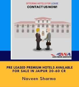 Invest in  85 Room's hotel for sale in Jaipur.*