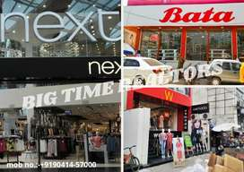 LUCKNOW 900 sqft to 3500 sqft Showroom/Shops spaces available for Leas