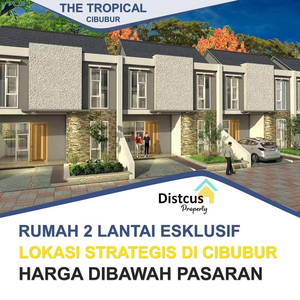rumah 2 lantai ekslusif, ter-murah di kawasan cibubur - jakarta timur