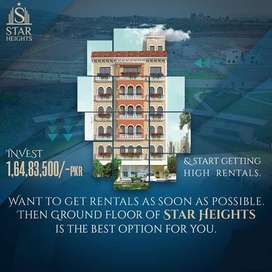 Studio apartment are available for sale in star height in park view ci