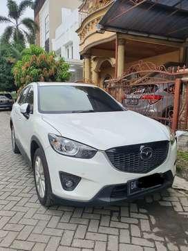 Mazda cx5 2.0 tahun 2012 matic warna putih
