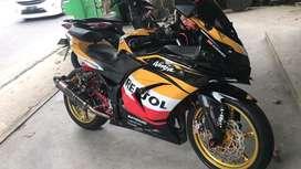 Kawasaki ninja 250 karbu Builtup