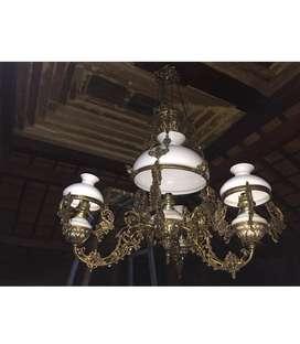 Promo lampu gantung murah antik klasik OVJ katrol cabang betawi