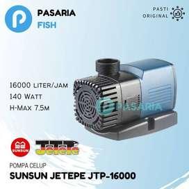 SUNSUN JETEPE JTP 16000 / JTP16000 Pompa Kolam Ikan Celup Impor Ori