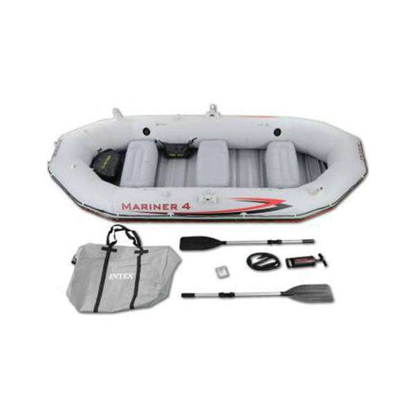 4-Person Inflatable Boat Set fishing and rafting 0