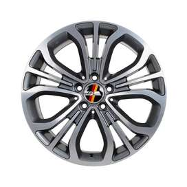 jual hsr wheel coupe ring 18x8,5/9,5 h5(112) grey polish