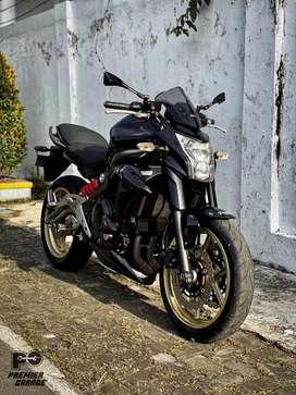 Moge Kawasaki ER6n Special Plat AD Klaten Murah