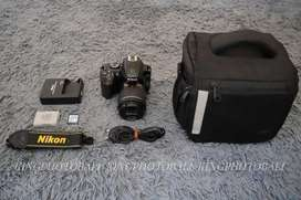 Nikon d3400 lensa 18-55 bluetooth