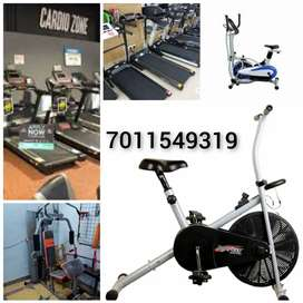 Teradmile and exercise cycle /- cross trainer