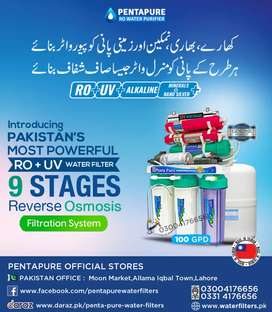 9 Stages PentaPure Most Advanced Ro Plant - Top Quality Water Filter