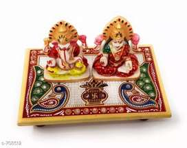 Ganpati laxmi with chowki
