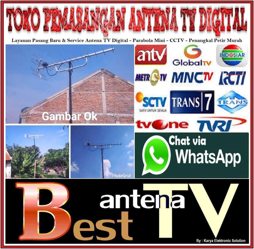 Toko Online Antena TV : Instalasi Tersedia Pasang Paket Antena TV UHF