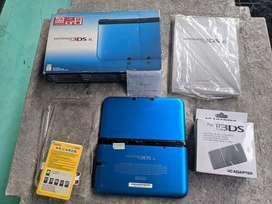 Nintendo 3DS XL Blue 16GB Fullset Plus Case