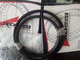 Velg rossi klx 18 21 36hole hitam barang baru set