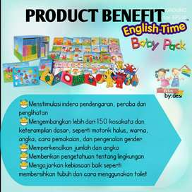 ETL Learning English Time Baby Pack [Activity Books]