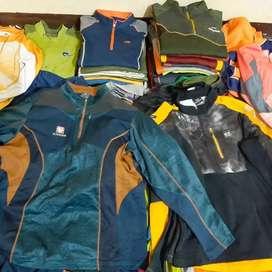 Baselayer dan Jaket outdoor second import