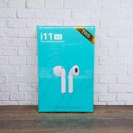 Headset Bluetooth i11 TWS 5.0 Wireless Earbuds