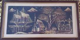 A scenic painting