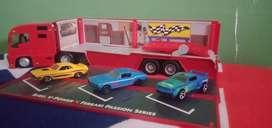 Diecast speed Racer merk hotwhel ada 3 unit kondisi seken
