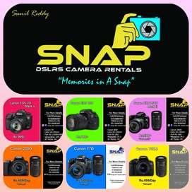 SNAp Camera Rentals
