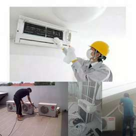 Jasa service AC / bongkar pasang AC / Jasa cuci AC terbaik