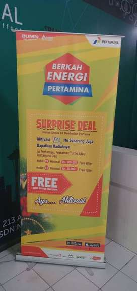 Roll Up Banner 60x160cm
