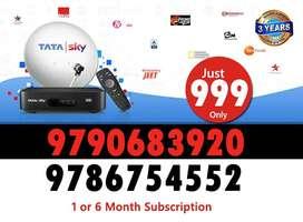 Tata sky Airtel DTH Dishtv Tatasky DTH HD Connection Tv Tata sky offer