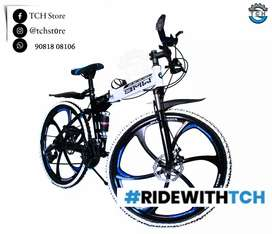 TCH BRAND NEW BM X6 FOLDEBAL BICYCLE WITH 21SHIMANO GEARS COMBINATION