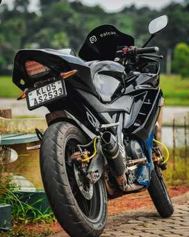 Yamaha r15 modified to r3 total modified by autologue design pune