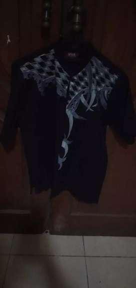 Baju Koko Dewasa Size M. Bahan Katun Kemeja Tebal Adem Nyaman.