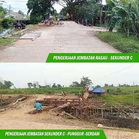 Cicil tanah kavling murah di daerah berkembang