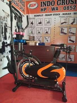 Peralatan Fitness Orbitrak bike sepeda olahraga sport