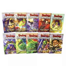 Goosebumps Horrorland 1 to 10 complete