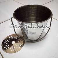 Ice bucket, ember es batu stainless 1,5 liter