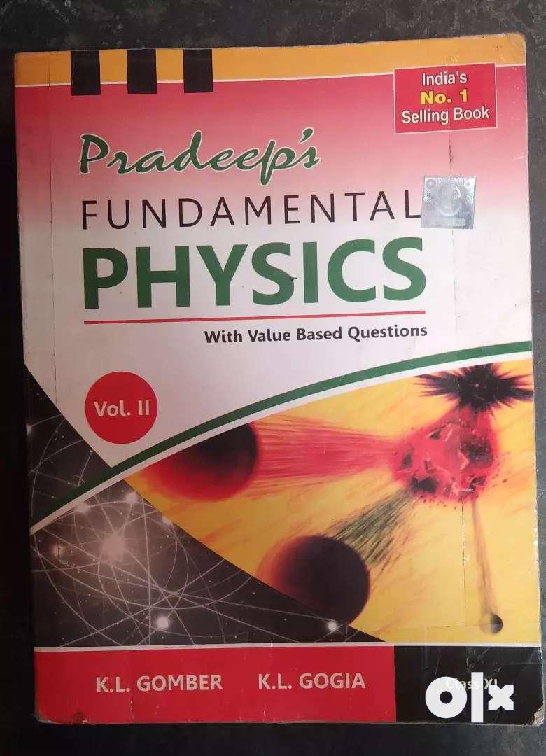 Class 11 pradeep physics vol 1 & 2