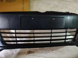 Polo r line bumper with grill